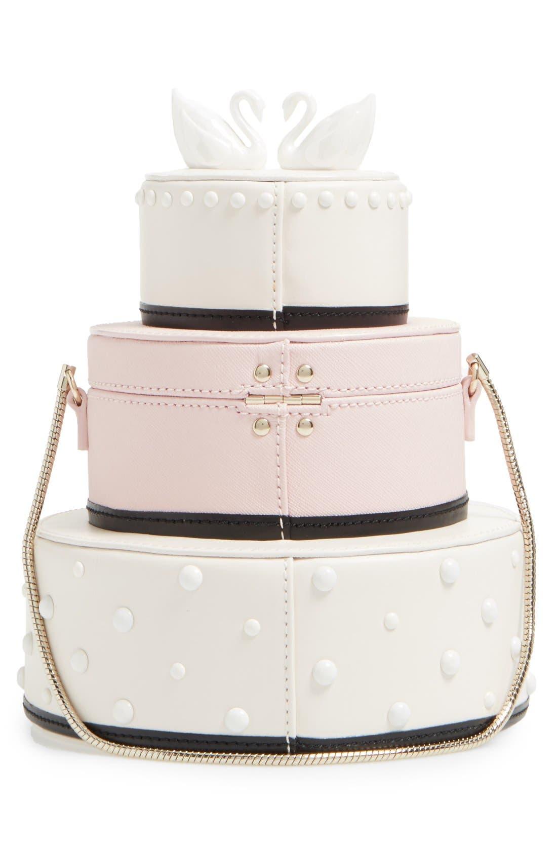Alternate Image 3  - kate spade new york 'wedding belles - cake' leather handbag