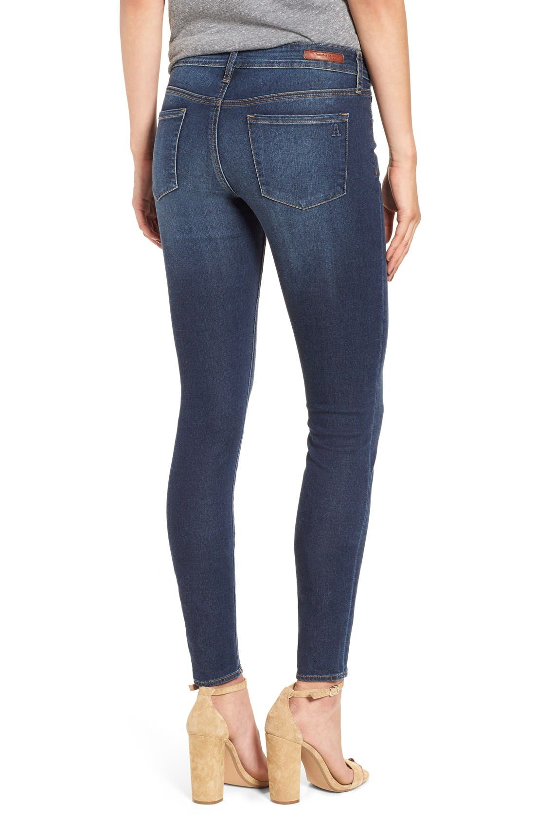 Alternate Image 2  - Articles of Society 'Mya' Skinny Jeans (Glendale)