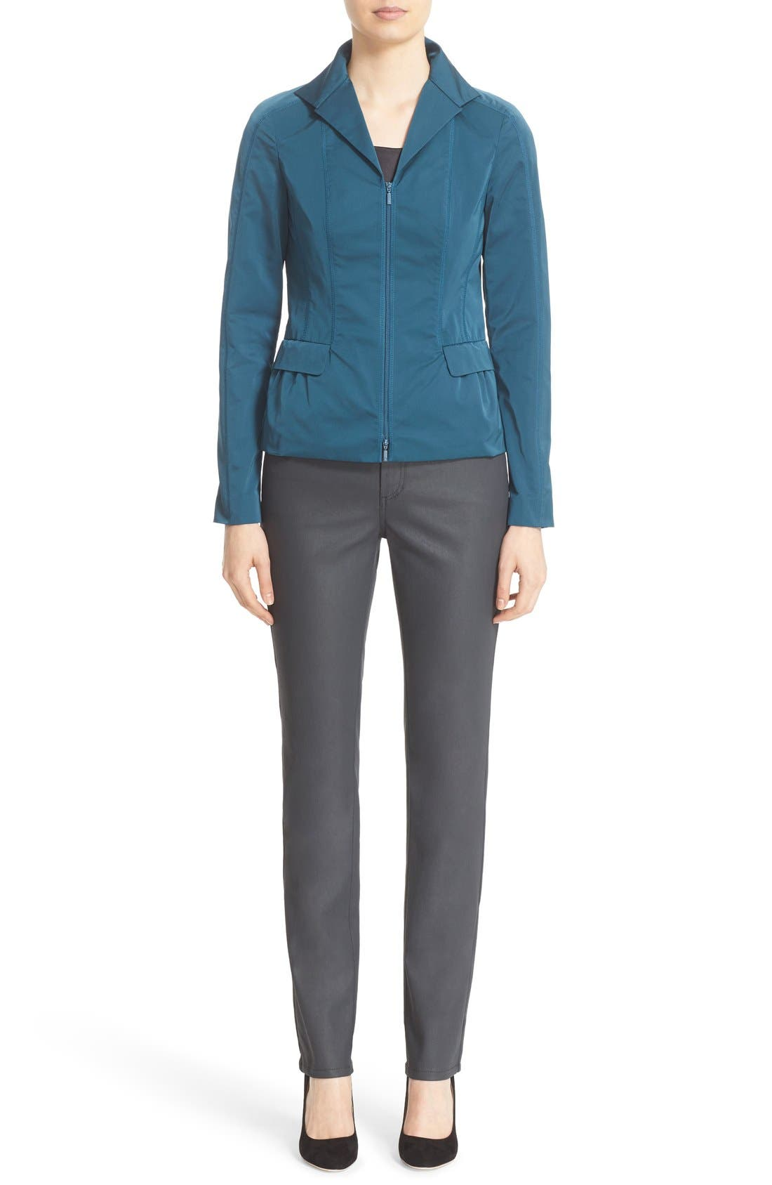 Alternate Image 5  - Lafayette 148 New York 'Nala' Zip Front Jacket