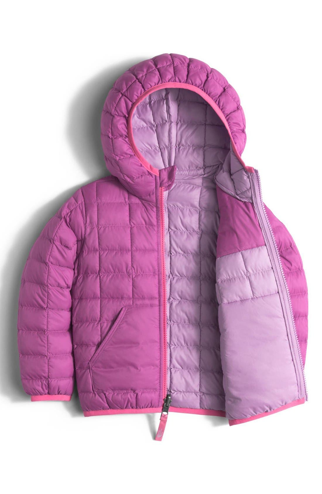 Alternate Image 2  - The North Face 'ThermoBall™' PrimaLoft® Hooded Jacket (Toddler Girls & Little Girls)