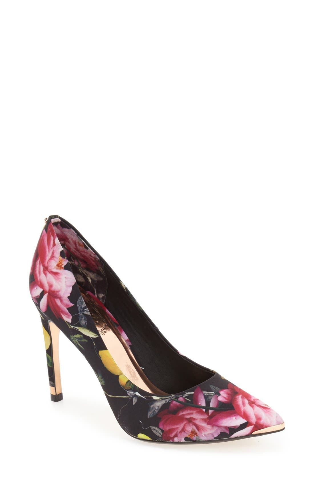 Alternate Image 1 Selected - Ted Baker London 'Neevo' Pointy Toe Pump (Women)