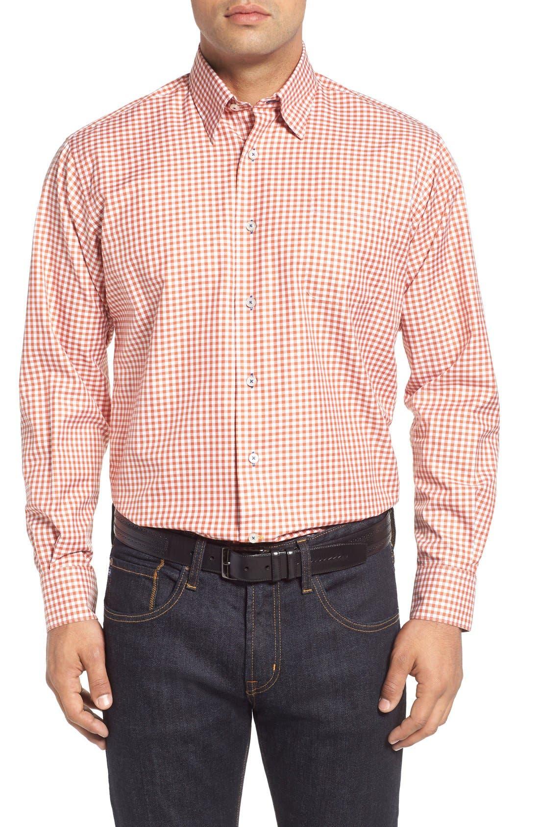 ROBERT TALBOTT 'Anderson' Classic Fit Gingham Sport Shirt