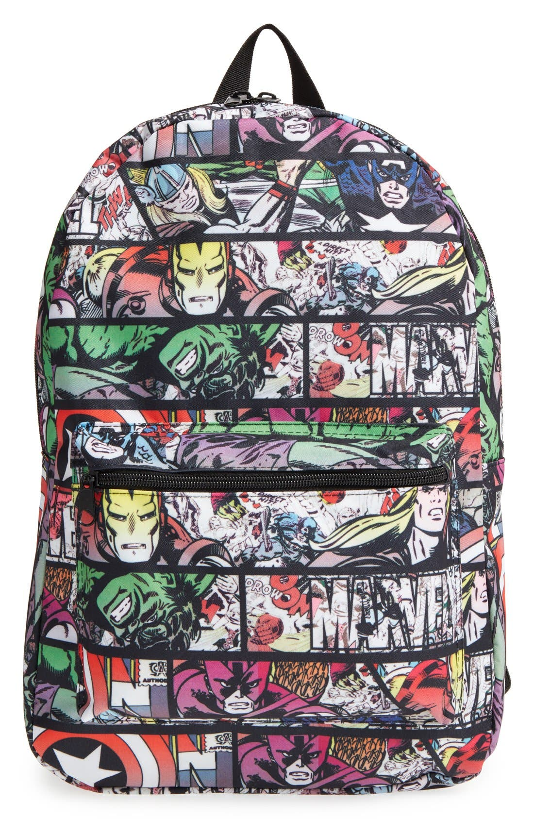 Alternate Image 1 Selected - Marvel 'Quick Turn Comic' Backpack (Kids)