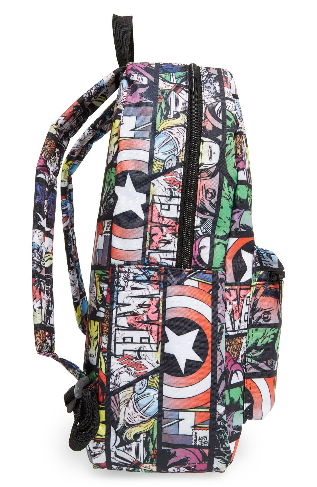 Alternate Image 3  - Marvel 'Quick Turn Comic' Backpack (Kids)