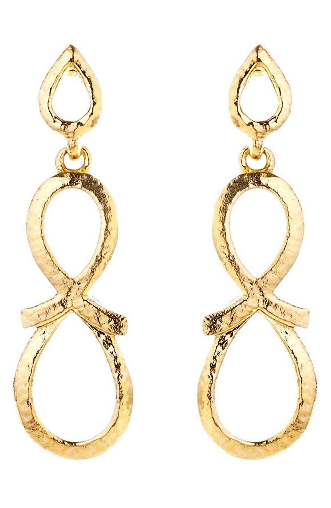 Alternate Image 3  - Oscar de la Renta 'Infinity Loop' Drop Earrings