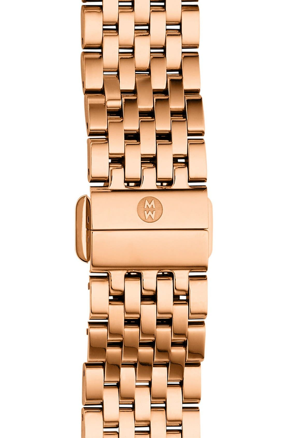 MICHELE 'Deco II' 16mm Bracelet Watch Strap