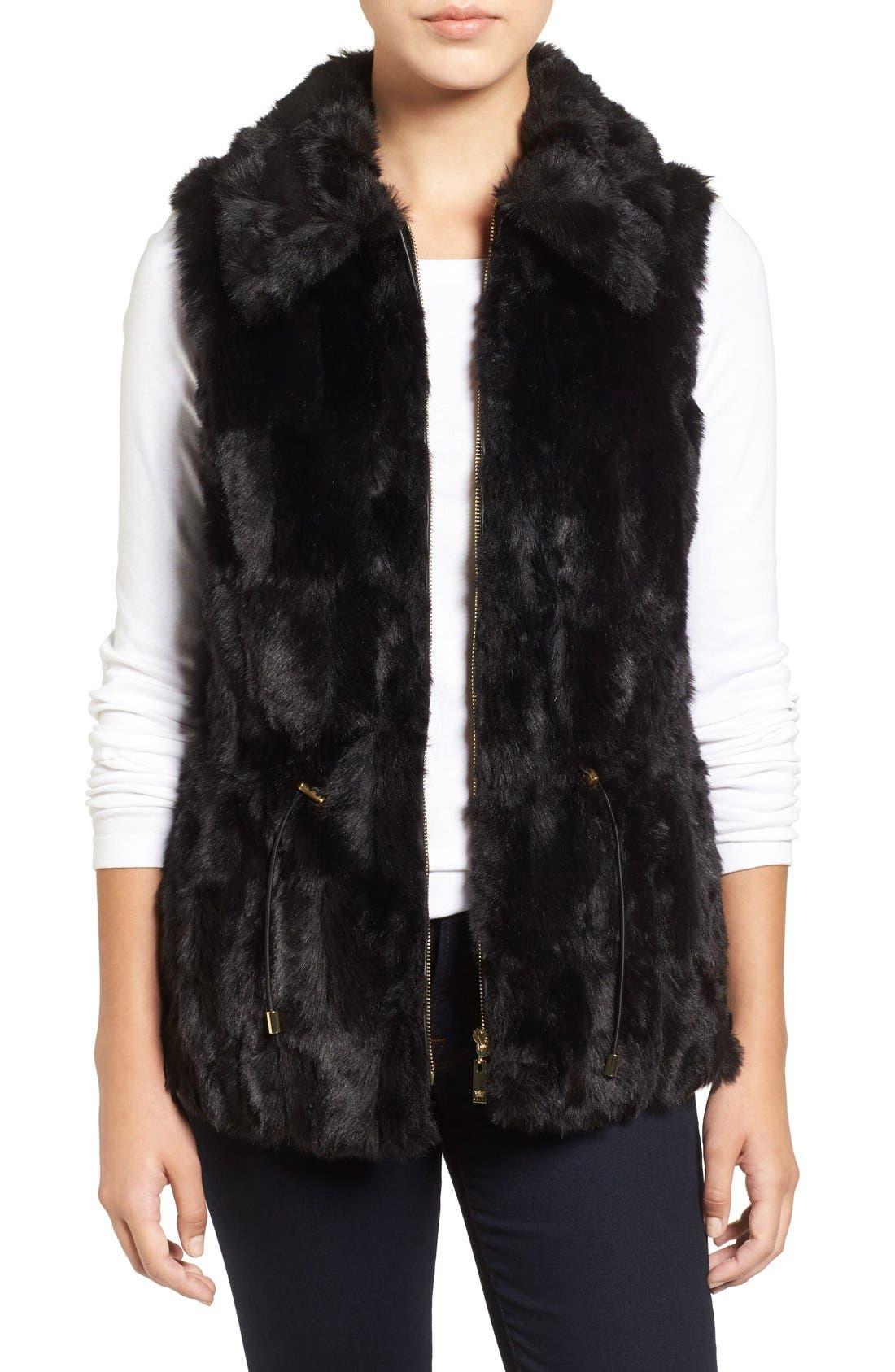 Alternate Image 1 Selected - Chaus Faux Fur Vest