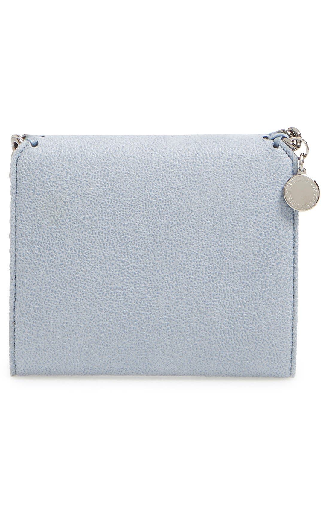 Alternate Image 4  - Stella McCartney 'Small Falabella' Faux Leather French Wallet
