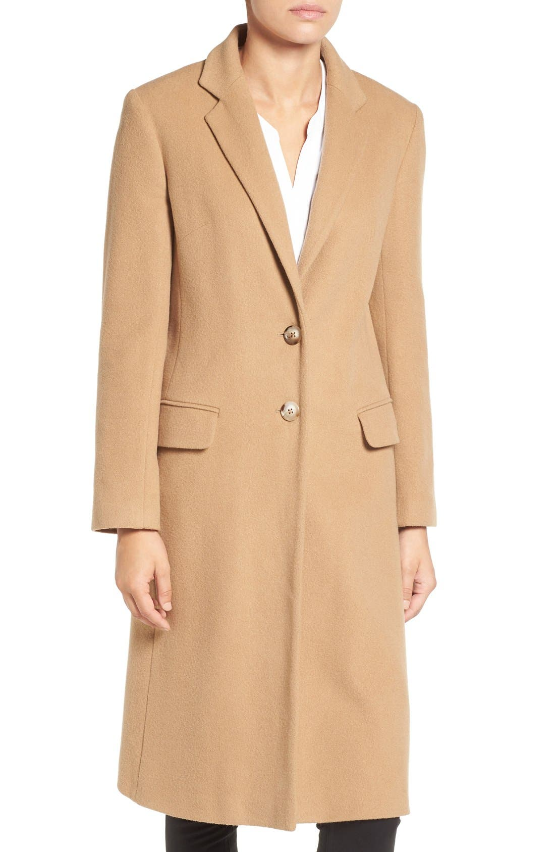 Alternate Image 4  - Helene Berman Wool Blend College Coat