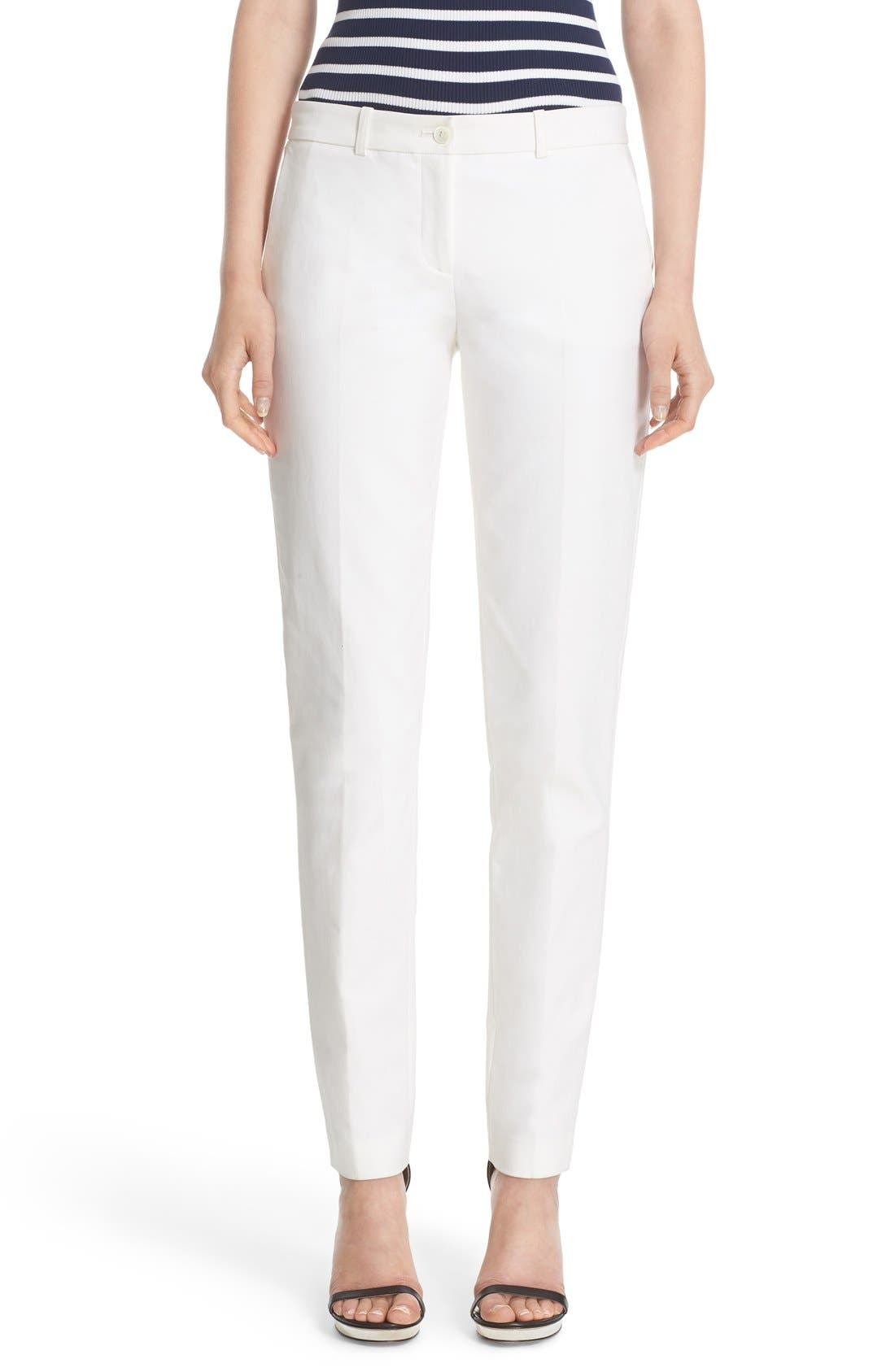 MICHAEL KORS Stretch Straight Leg Pants