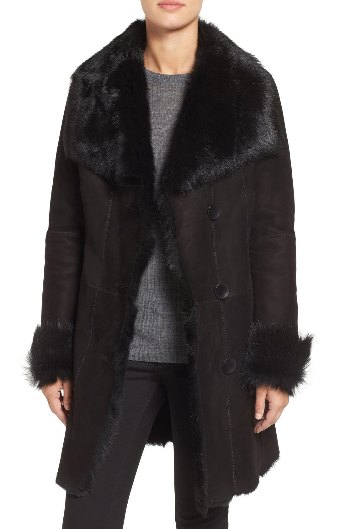 HiSO Genuine Toscana Shearling Coat