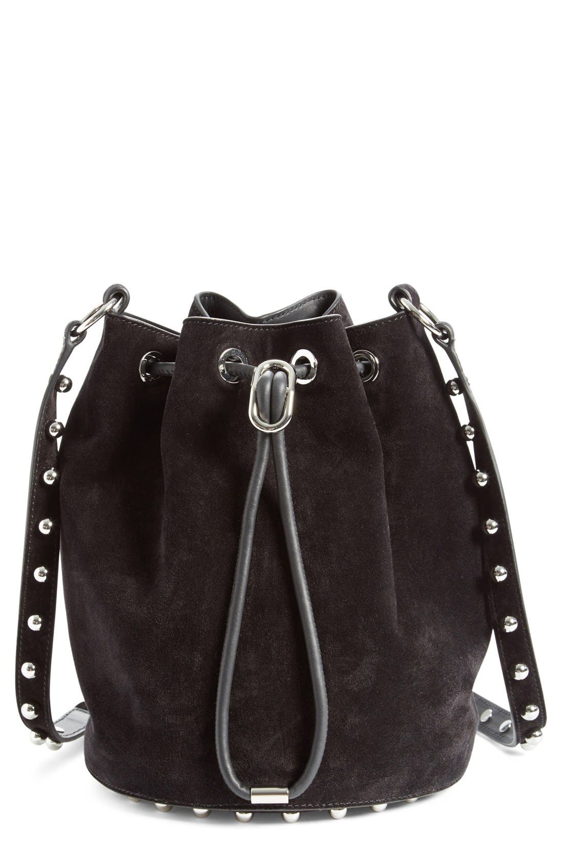 ALEXANDER WANG 'Alpha' Suede Bucket Bag