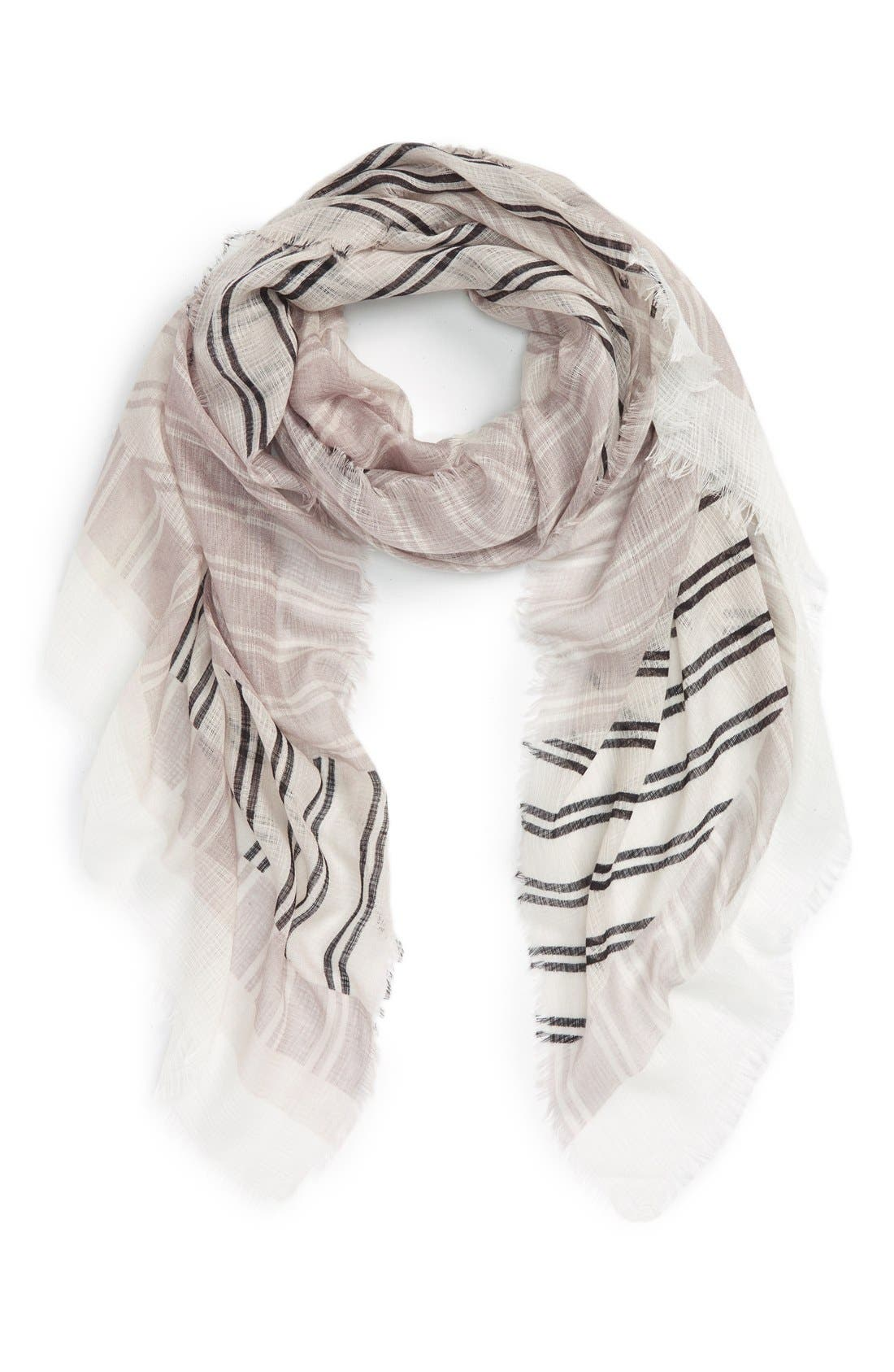 Alternate Image 1 Selected - BP. Mixed Stripe Scarf