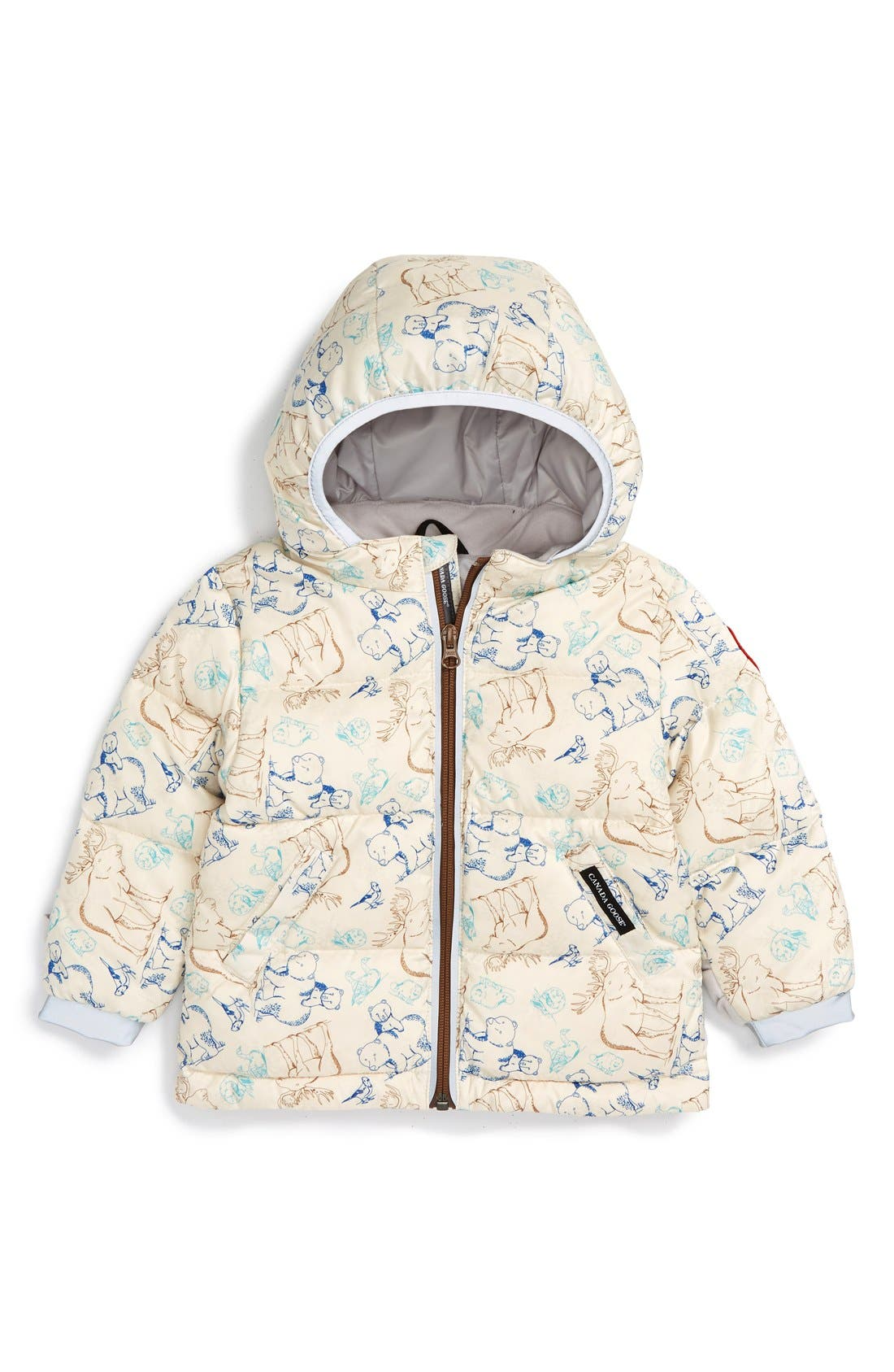 Canada Goose 'Sammy' Water Resistant Down Puffer Jacket (Baby Boys)