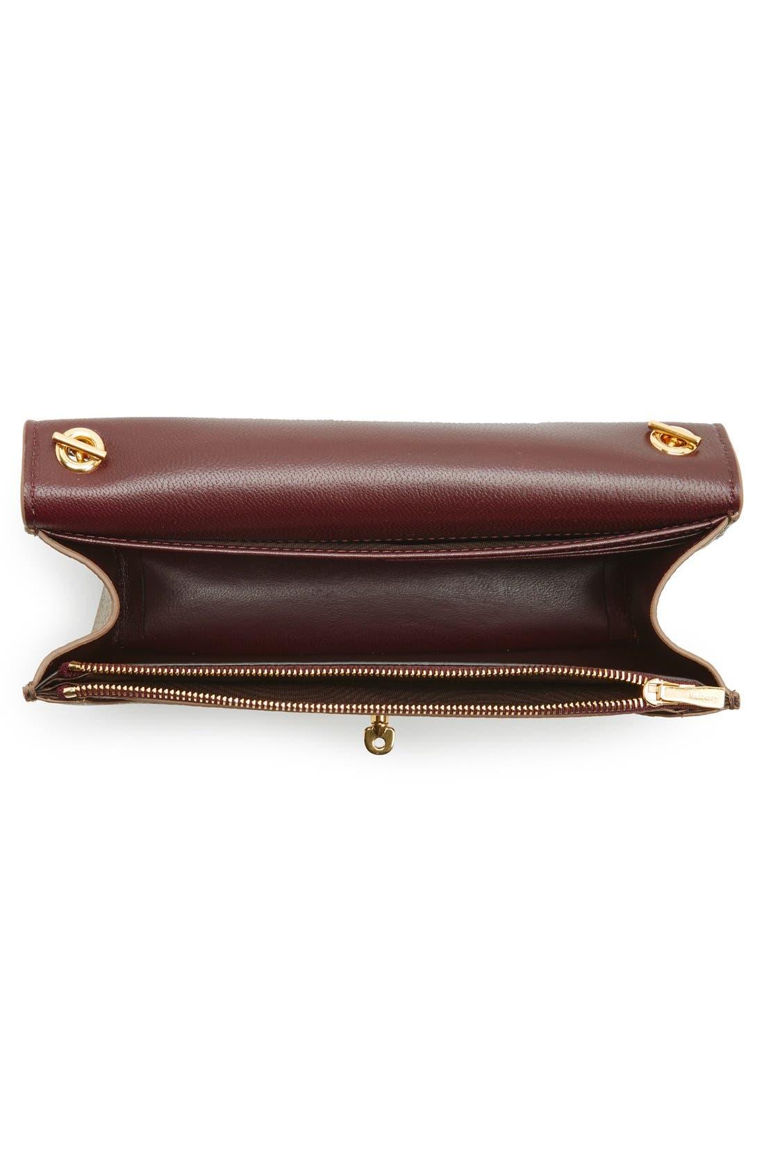 Alternate Image 4  - Mulberry 'Postman's Lock' Leather Crossbody Clutch