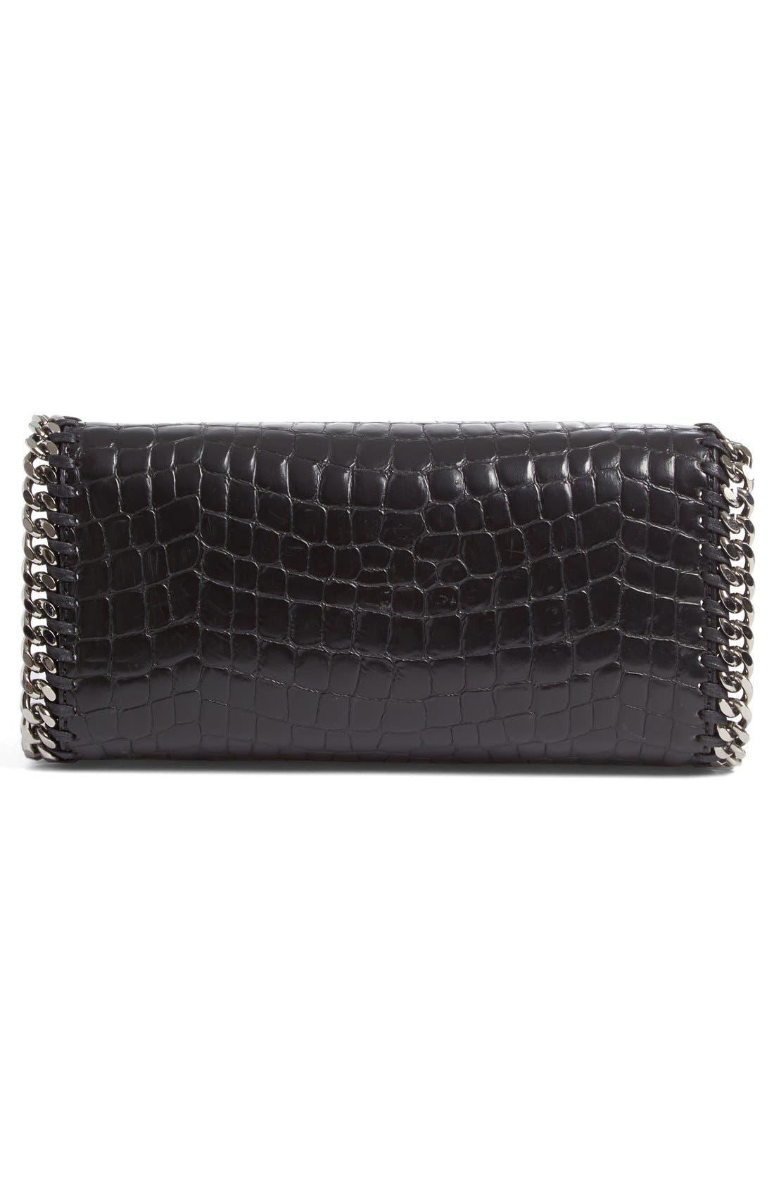 Alternate Image 5  - Stella McCartney Mini Falabella Faux Leather Box Satchel