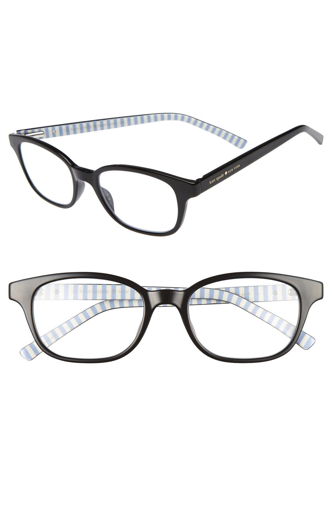 kate spade new york kya 49mm reading glasses (2 for $88)