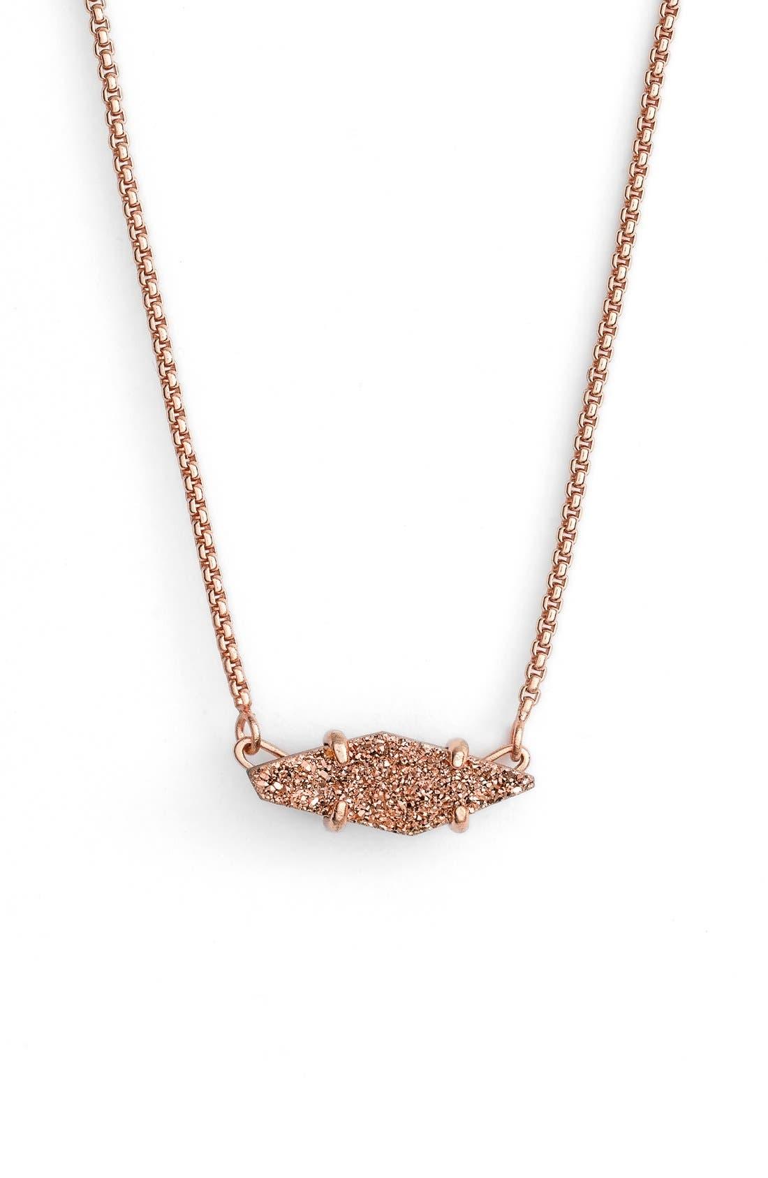 Main Image - Kendra Scott 'Bridgete' Drusy Pendant Necklace