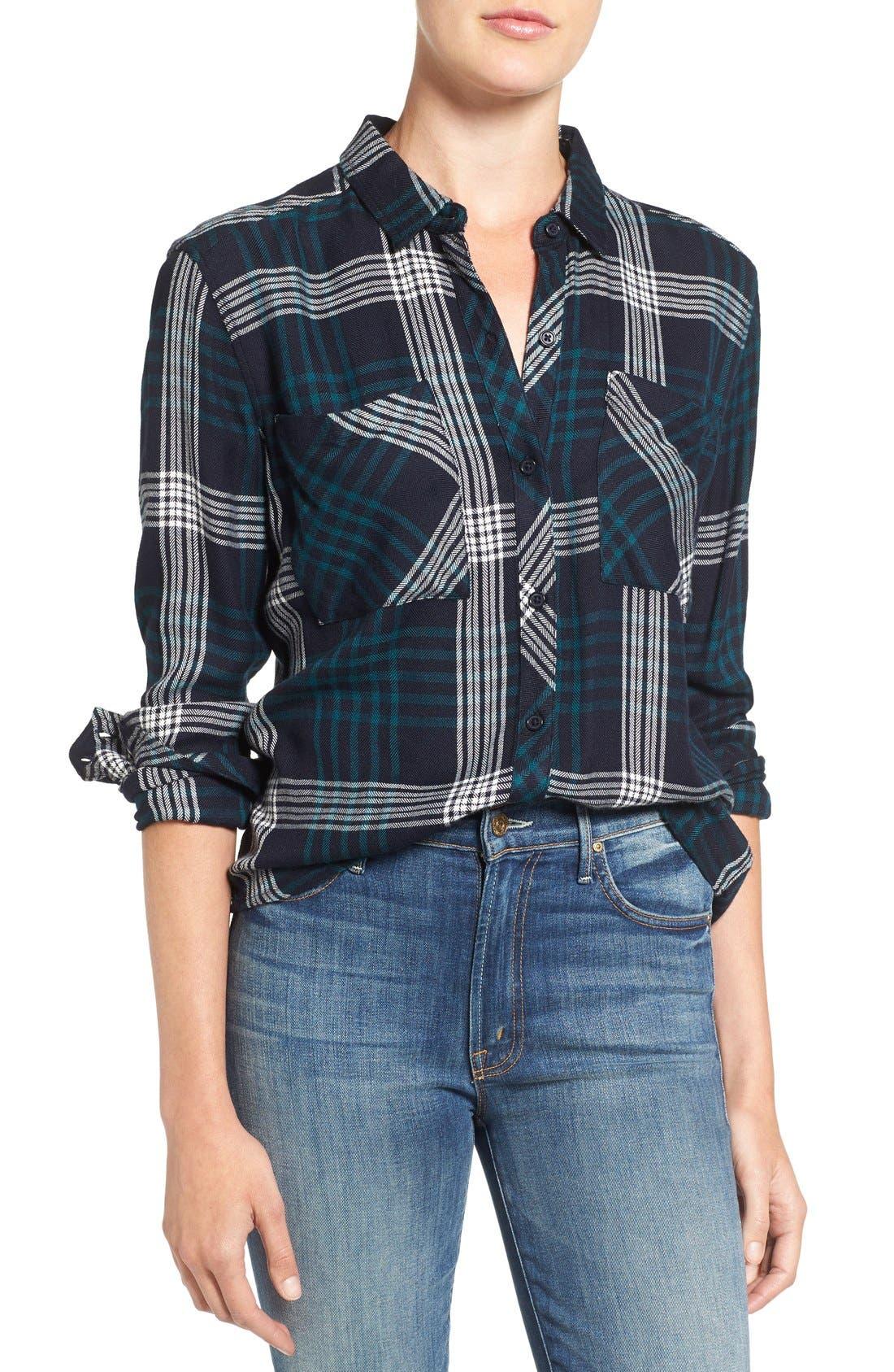 Alternate Image 1 Selected - Rails 'Dylan' Plaid Shirt
