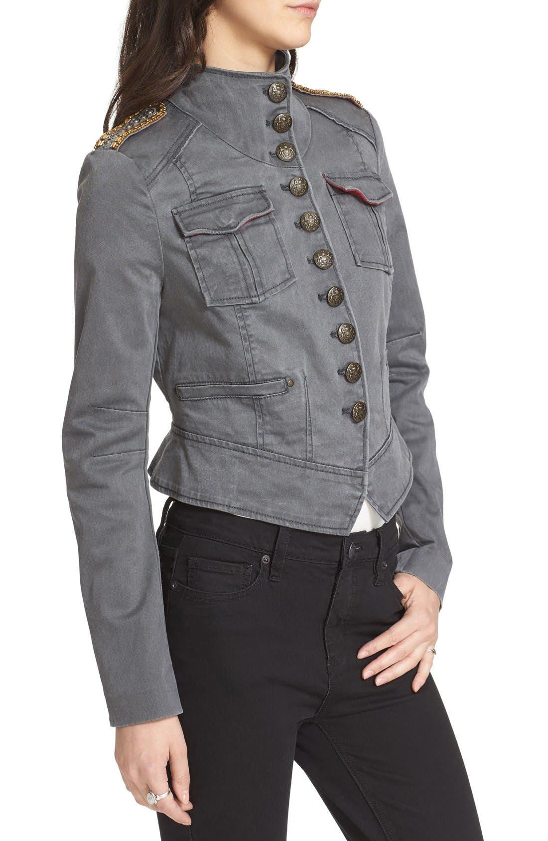 Alternate Image 3  - Free People Shrunken Officer Jacket
