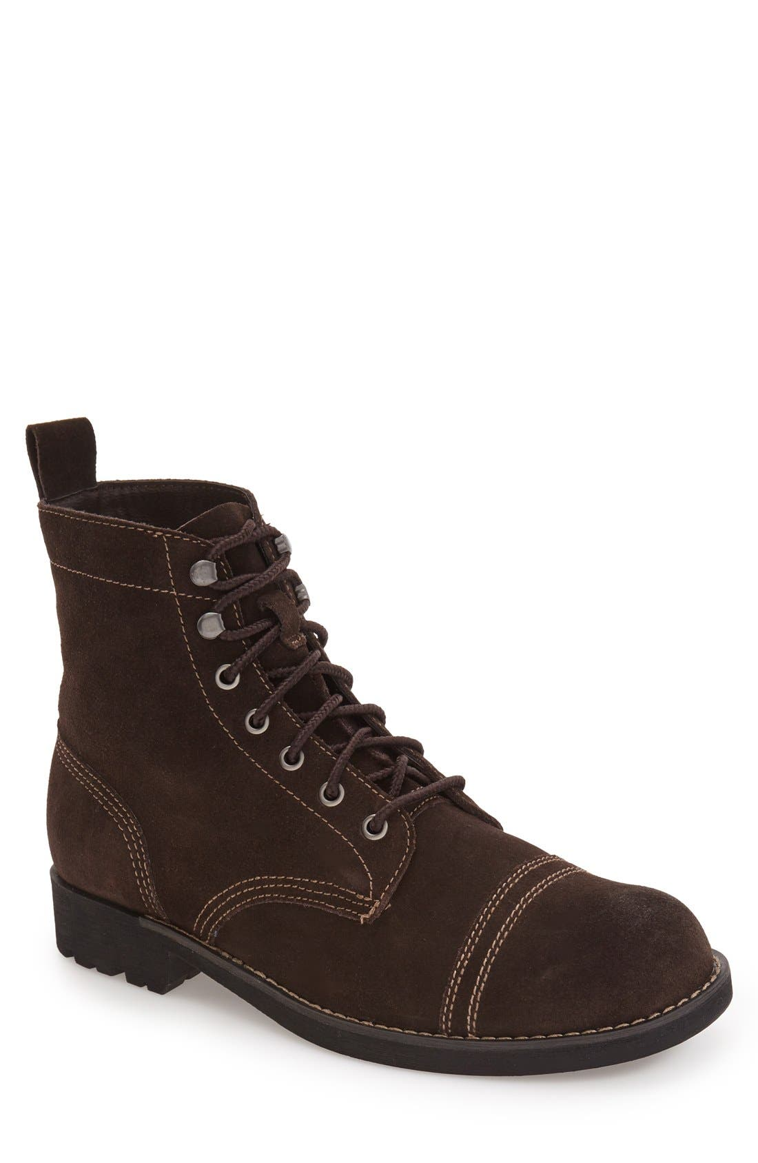 EASTLAND 'Jayce' Cap Toe Boot