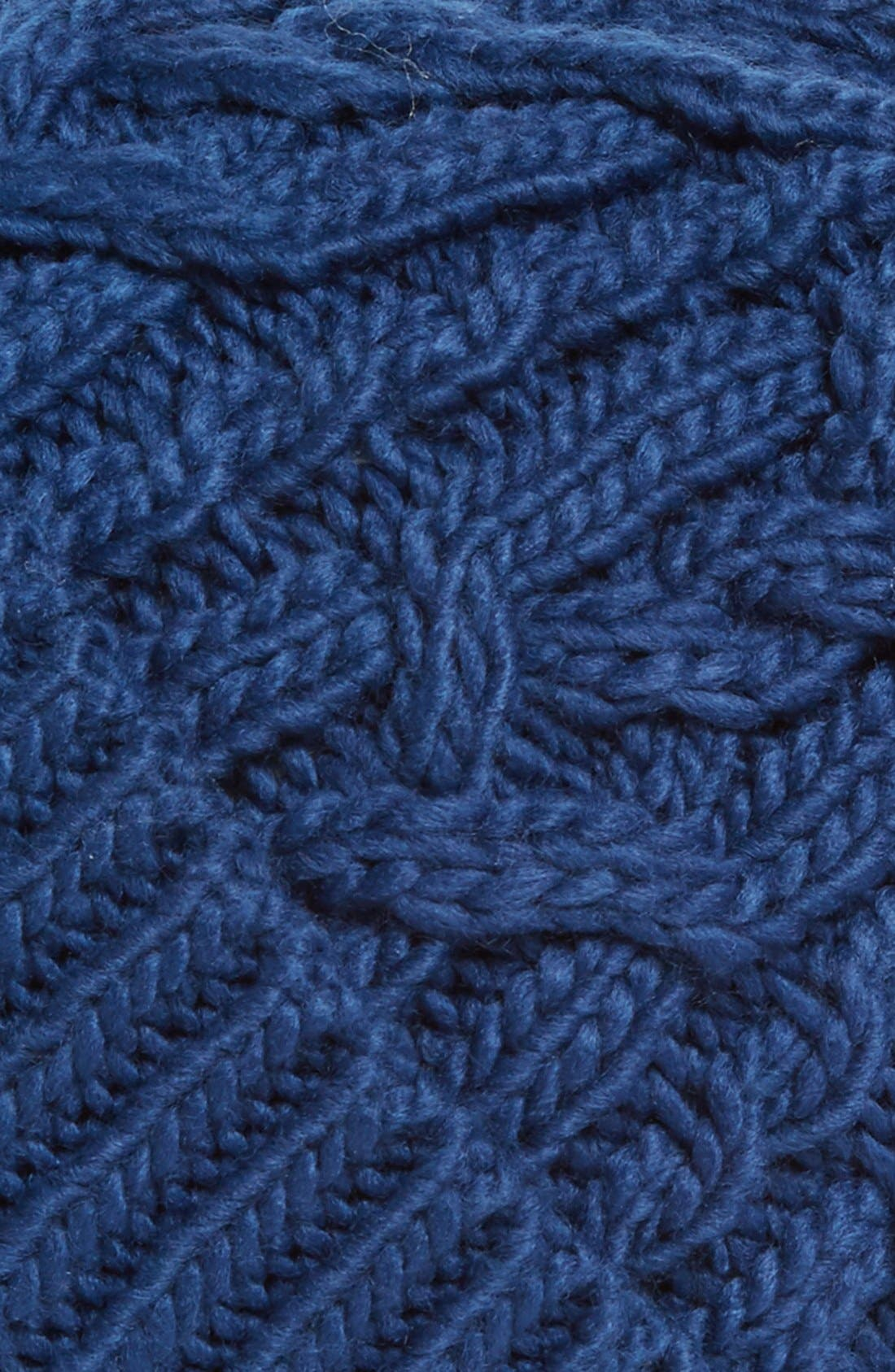 Alternate Image 2  - Hinge Knit Pompom Beanie