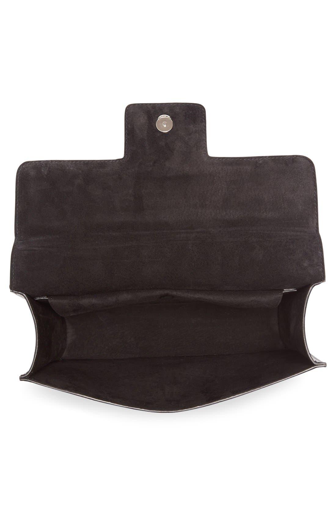 Alternate Image 4  - Alexander McQueen Medium Insignia Calfskin Leather Shoulder Bag