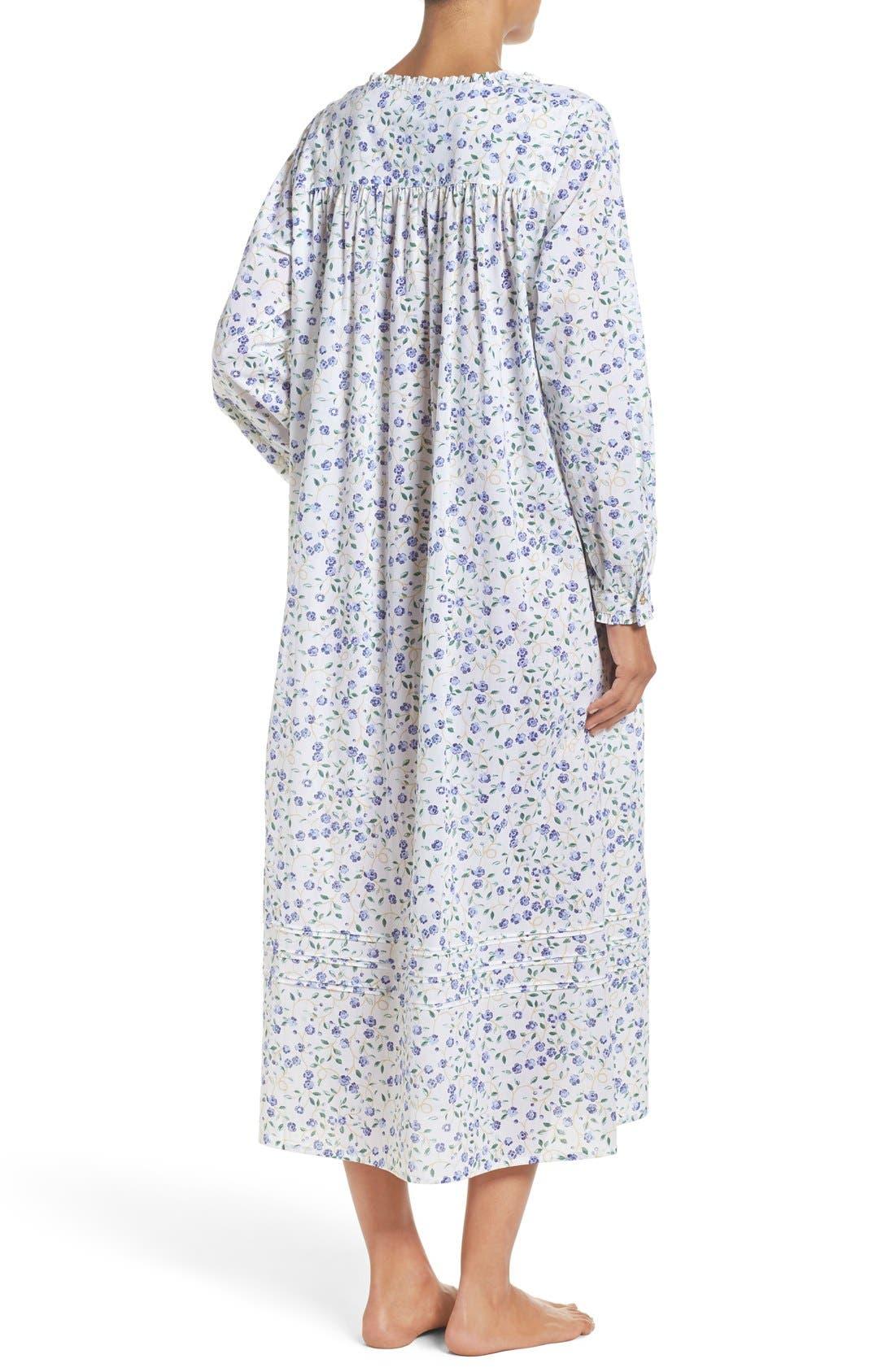 Alternate Image 2  - Elileen West Cotton Nightgown