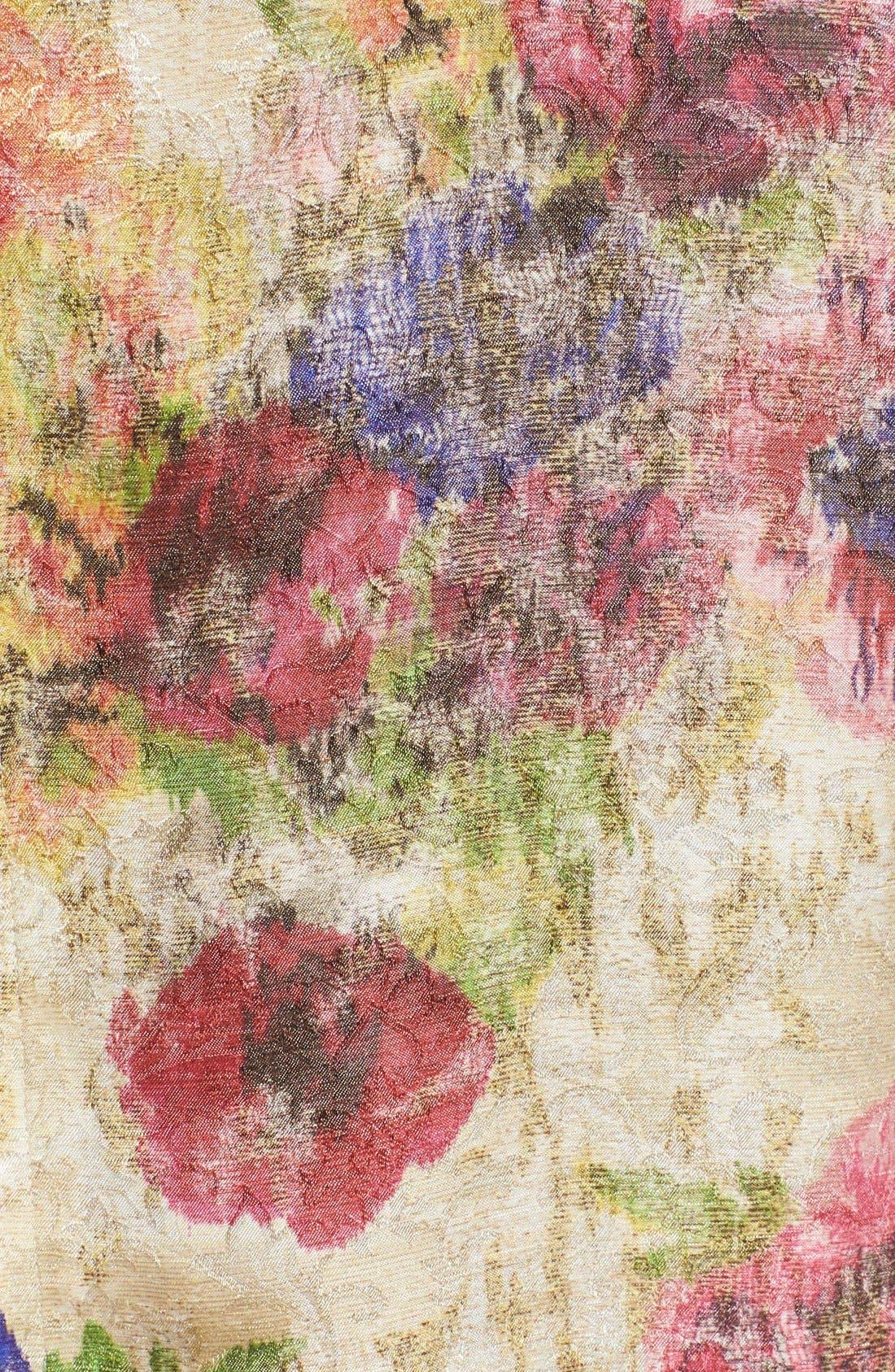Alternate Image 3  - Comme des Garçons Floral Jacquard Shift Dress