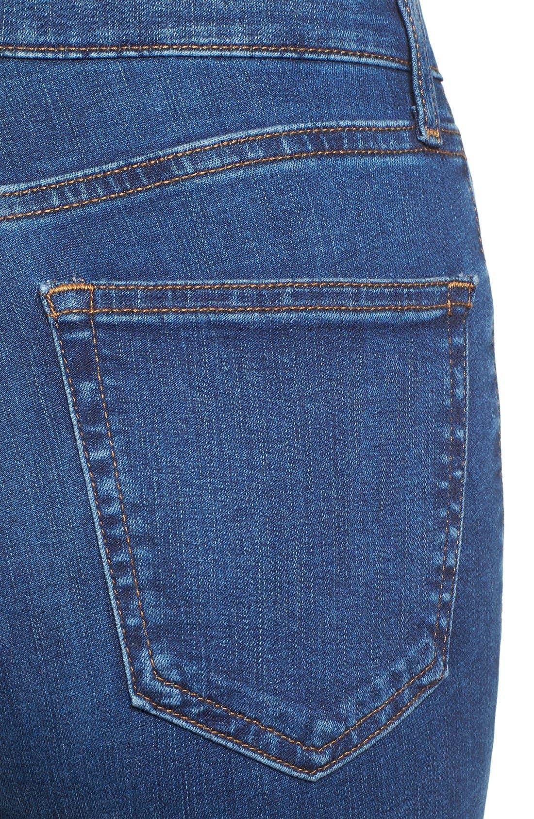 Alternate Image 5  - Topshop Jamie High Waist Ankle Skinny Jeans