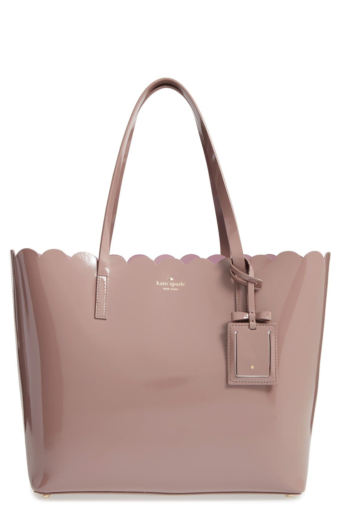 Alternate Image 1 Selected - kate spade new york 'lily avenue patent - carrigan' leather tote