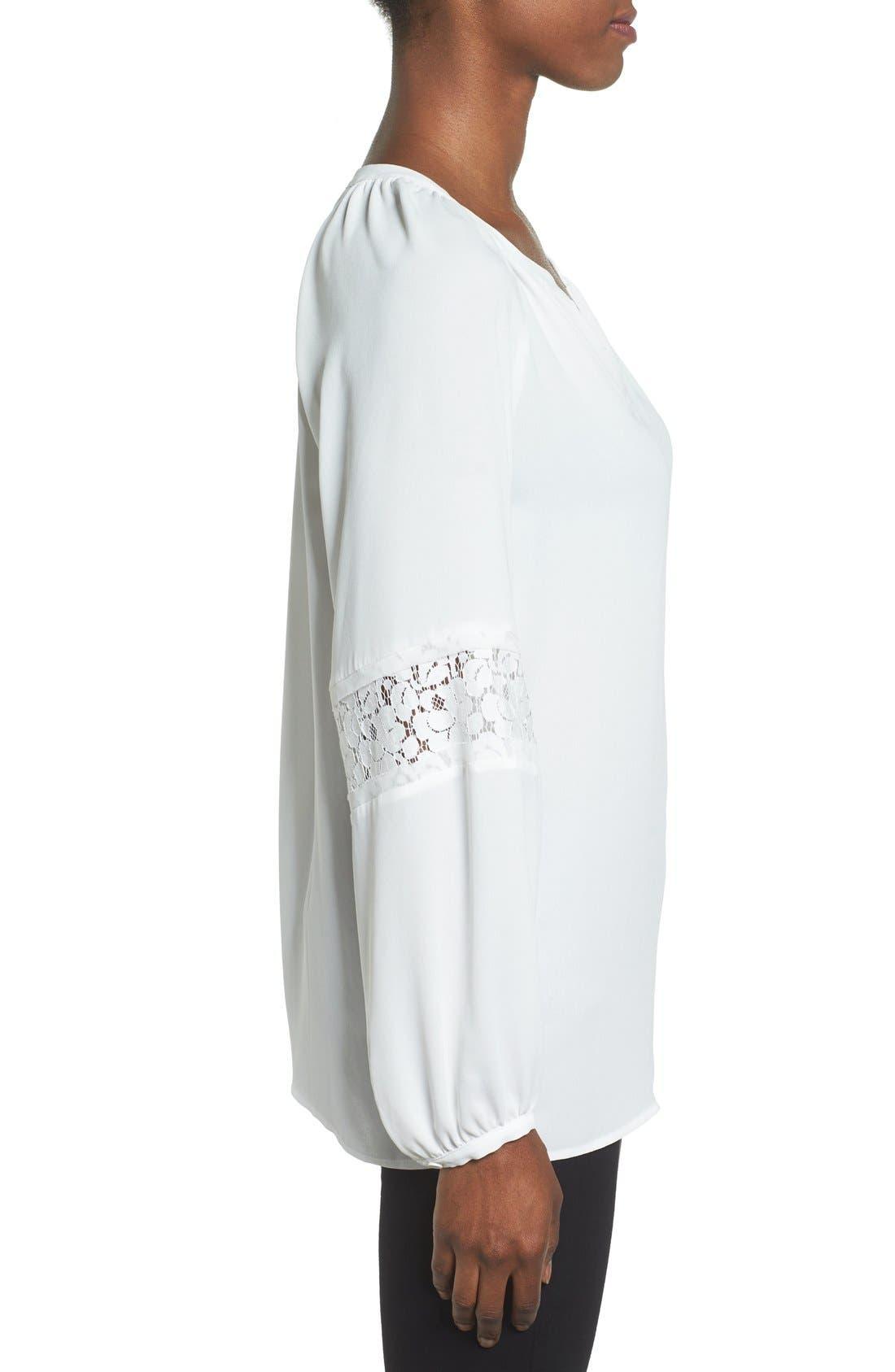 Alternate Image 3  - Pleione Lace Sleeve Top