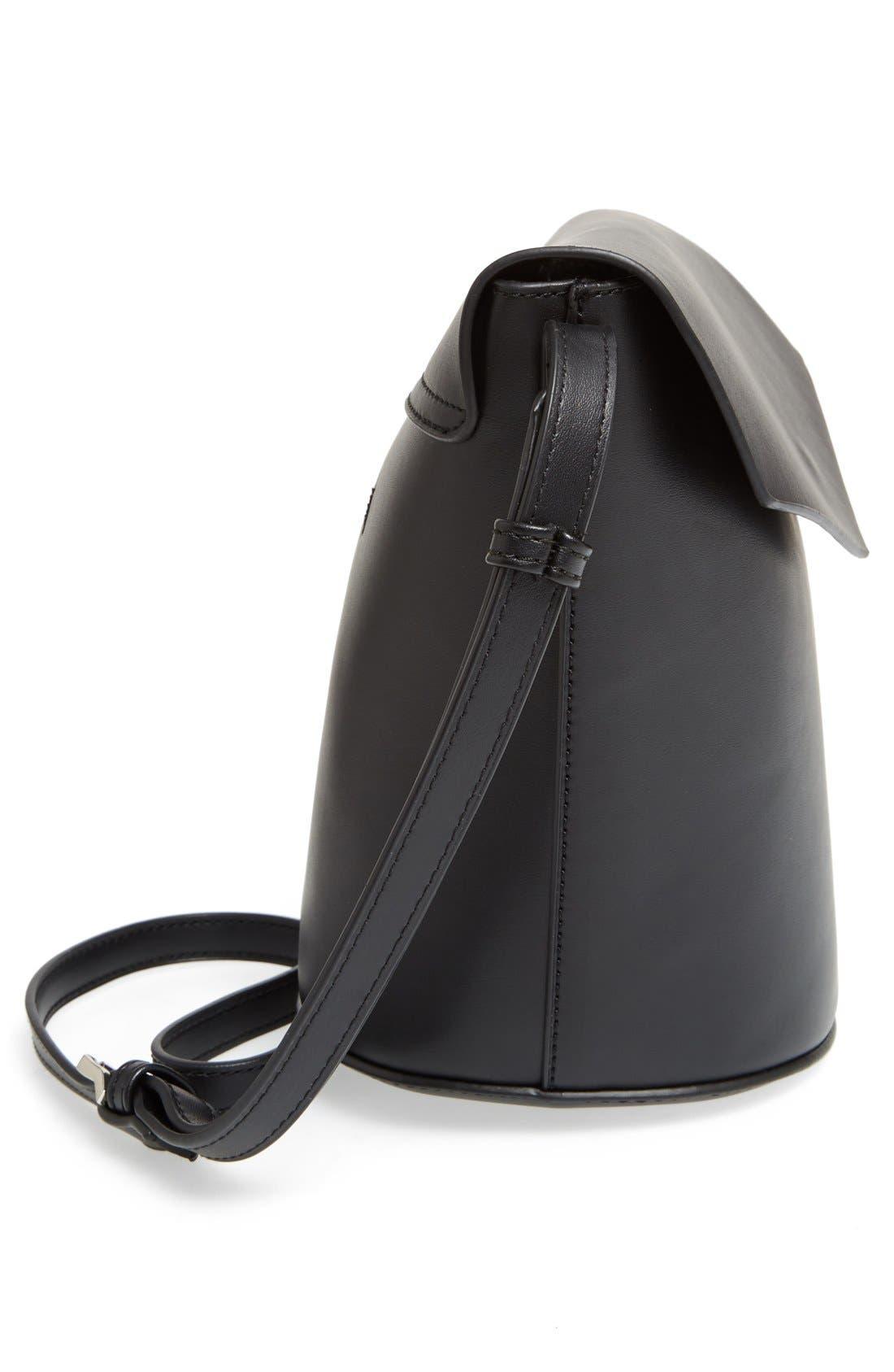 Alternate Image 5  - Street Level Faux Leather Envelope Bucket Bag