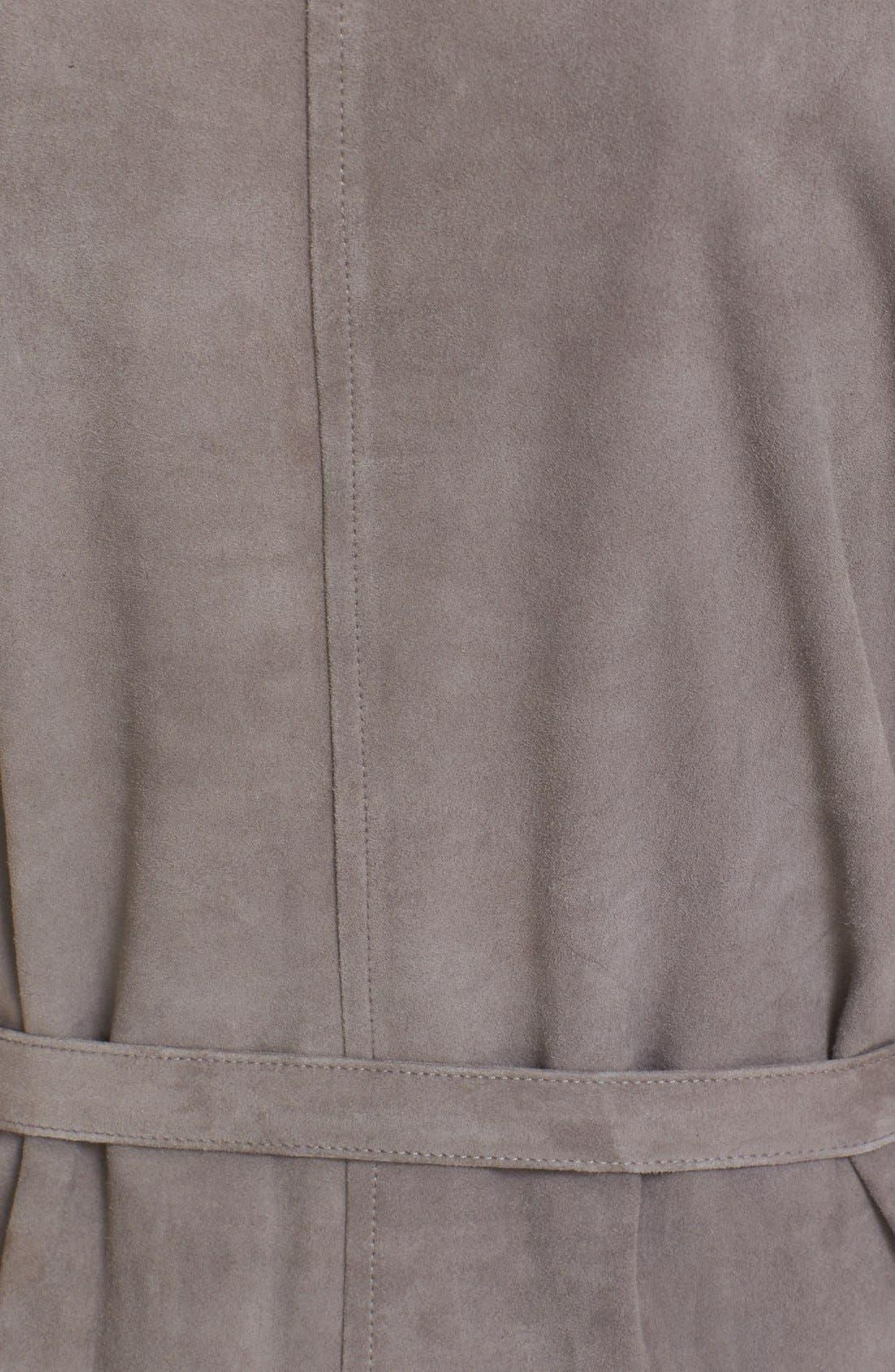 Alternate Image 5  - Joie Maroone Belted Suede Minidress