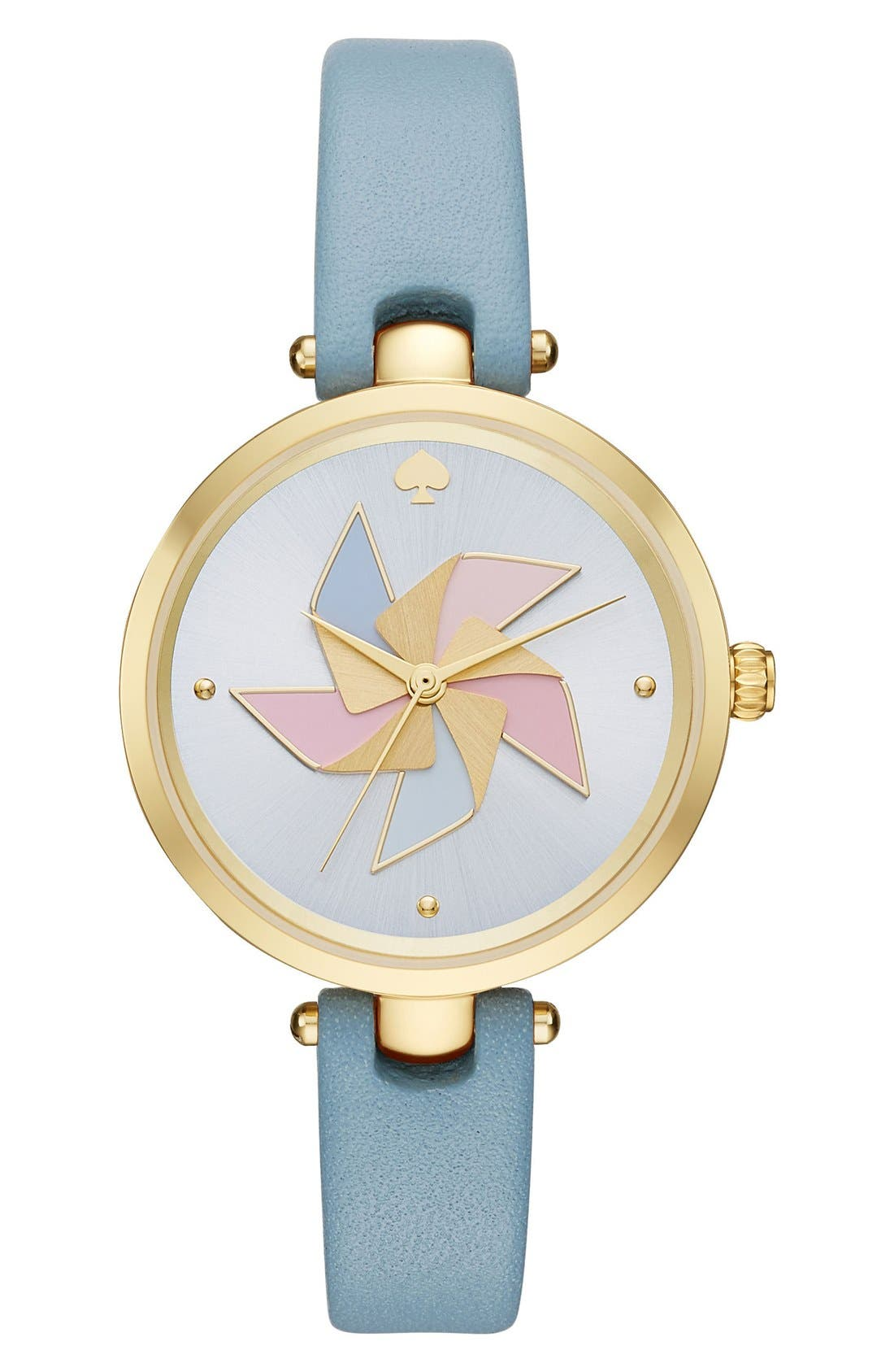 KATE SPADE NEW YORK holland pinwheel leather strap