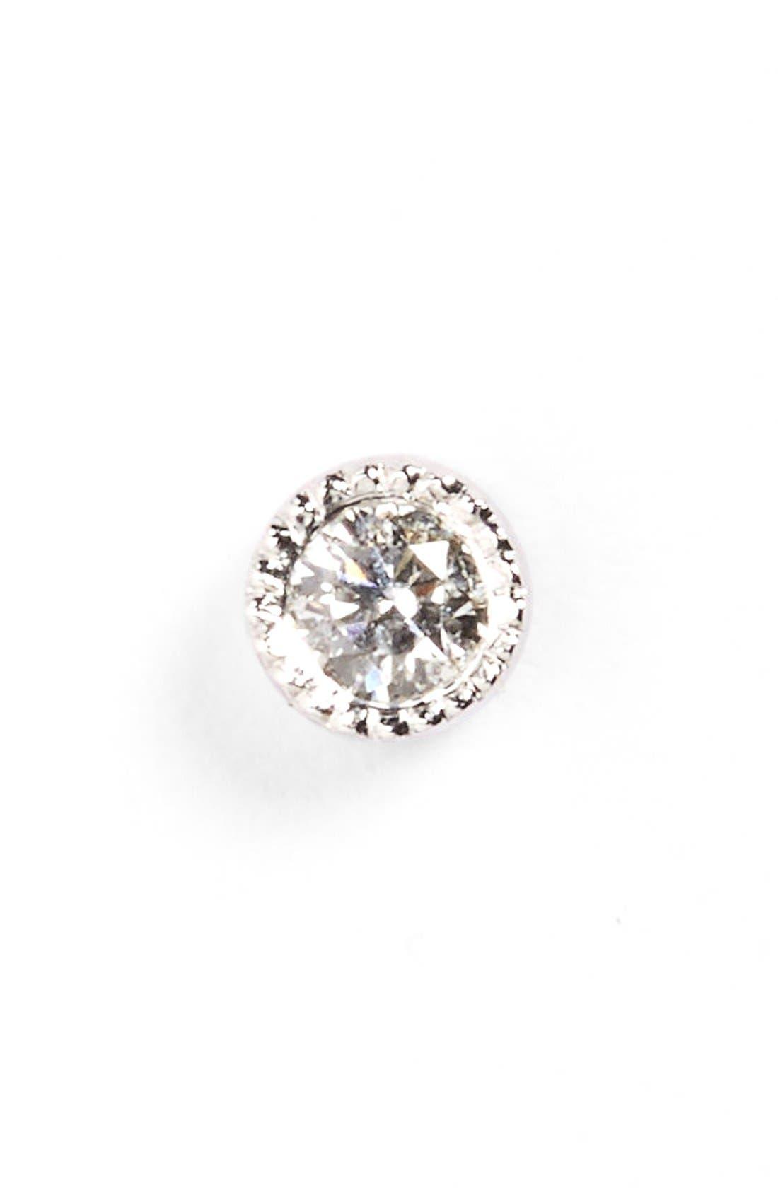 Maria Tash Scalloped Diamond Stud Earring
