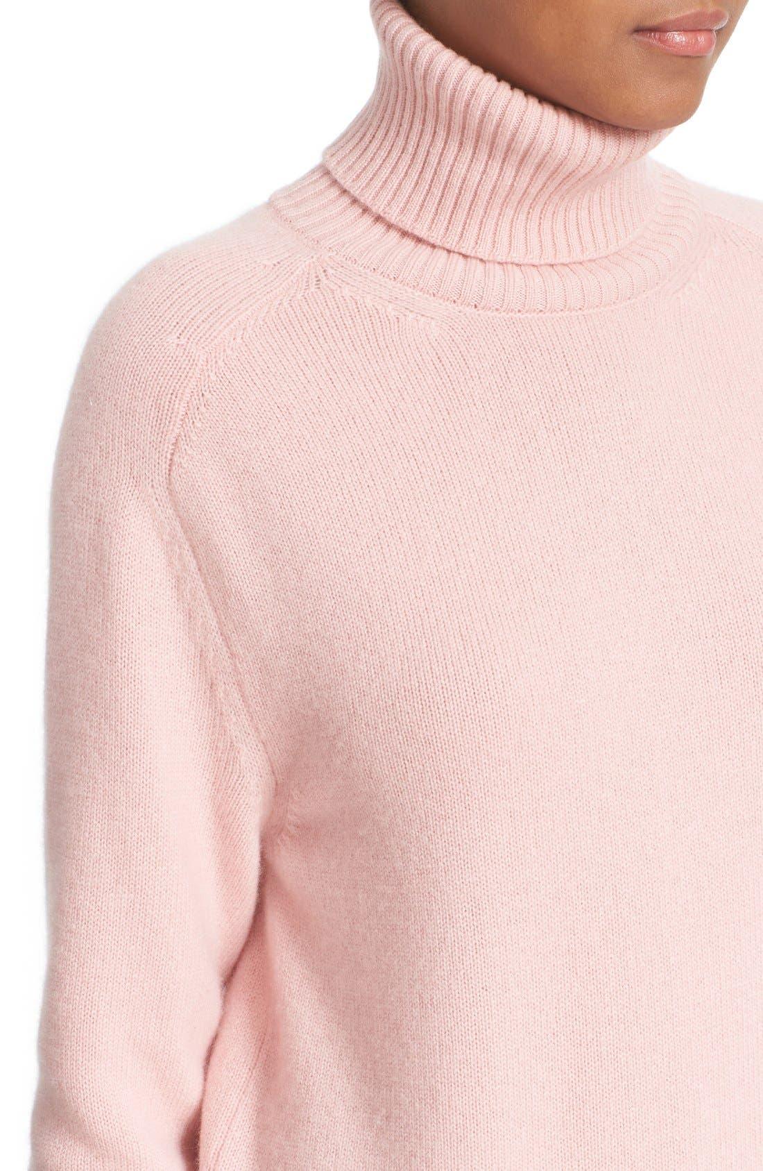 Alternate Image 6  - Tomas Maier Cashmere Turtleneck Sweater