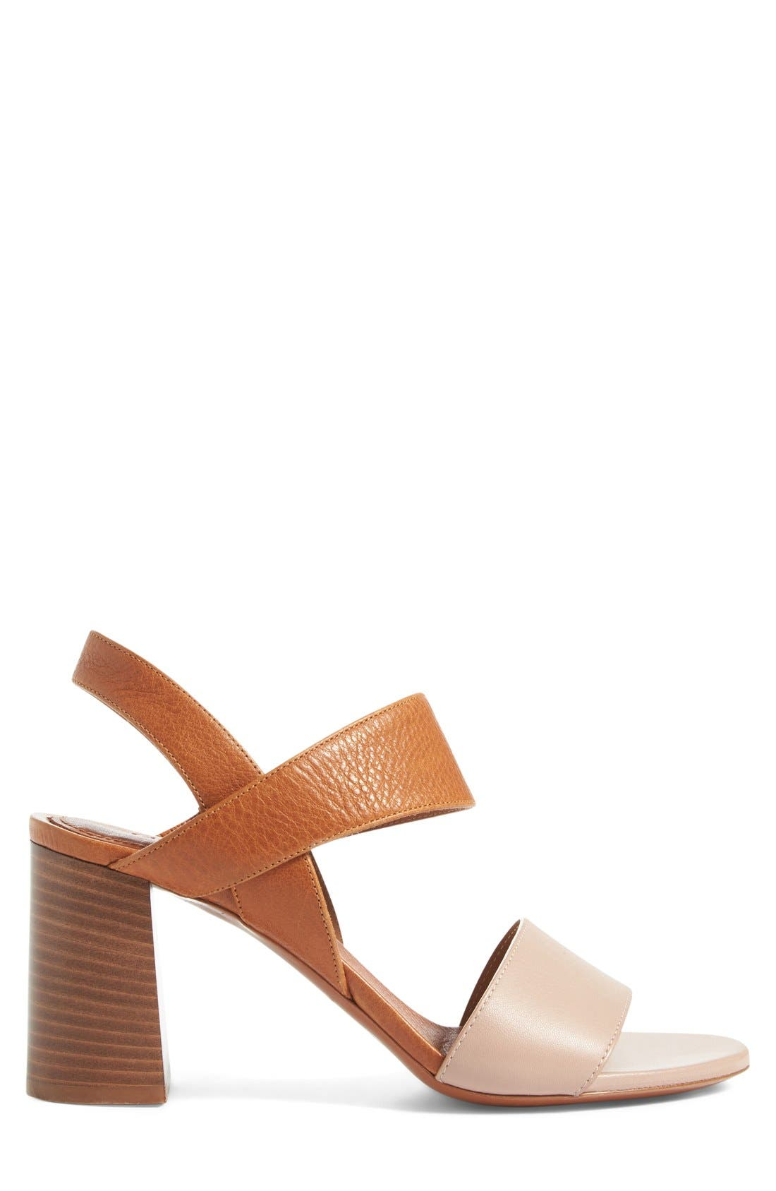 Alternate Image 4  - Chloé Mia Block Heel Sandal (Women)