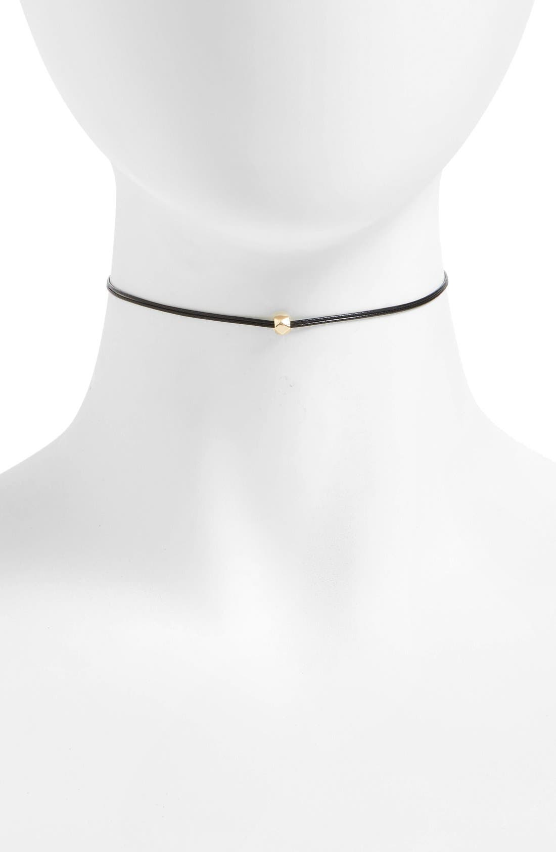 GIRLY Single Bead Choker