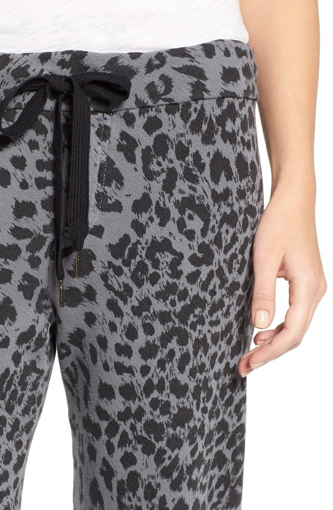 Alternate Image 4  - Current/Elliott 'The Varsity' Sweatpants