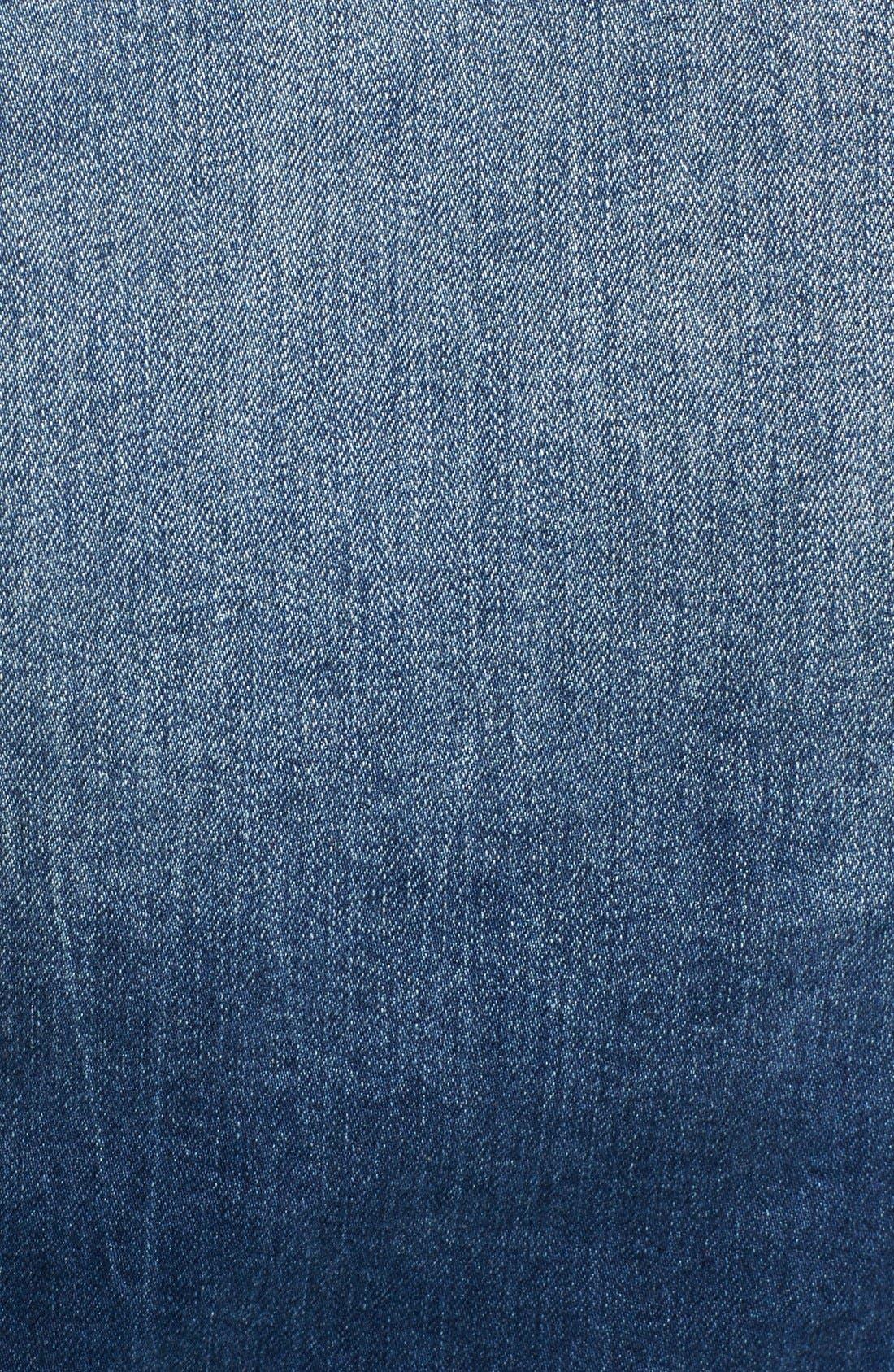 Alternate Image 5  - True Religion Brand Jeans Western Dusty Faux Shearling Collar Denim Jacket