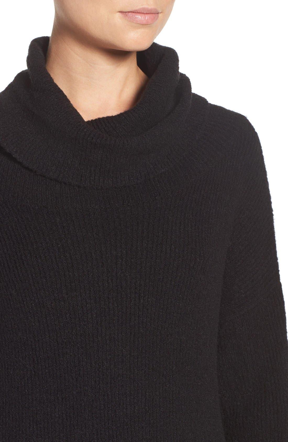 Alternate Image 5  - BB Dakota 'Collins' Ribbed Sweater Dress