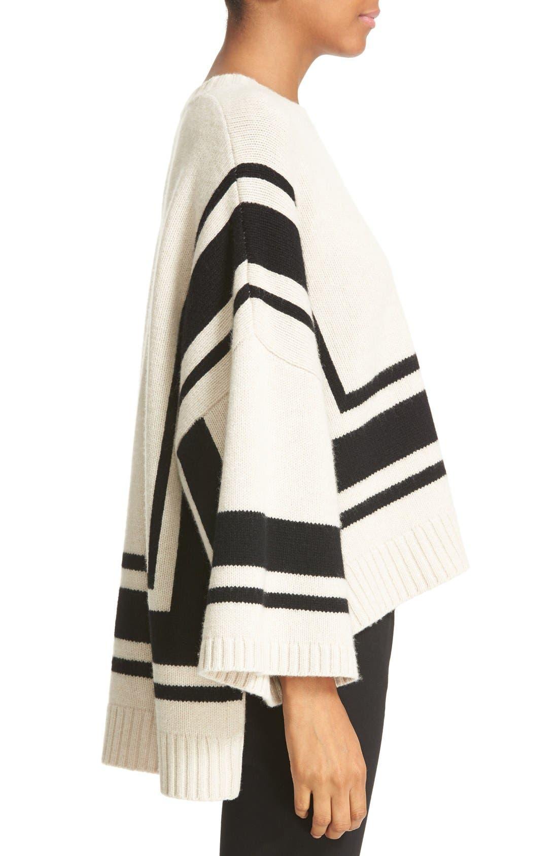 Alternate Image 3  - Derek Lam 10 Crosby Stripe Wool Sweater