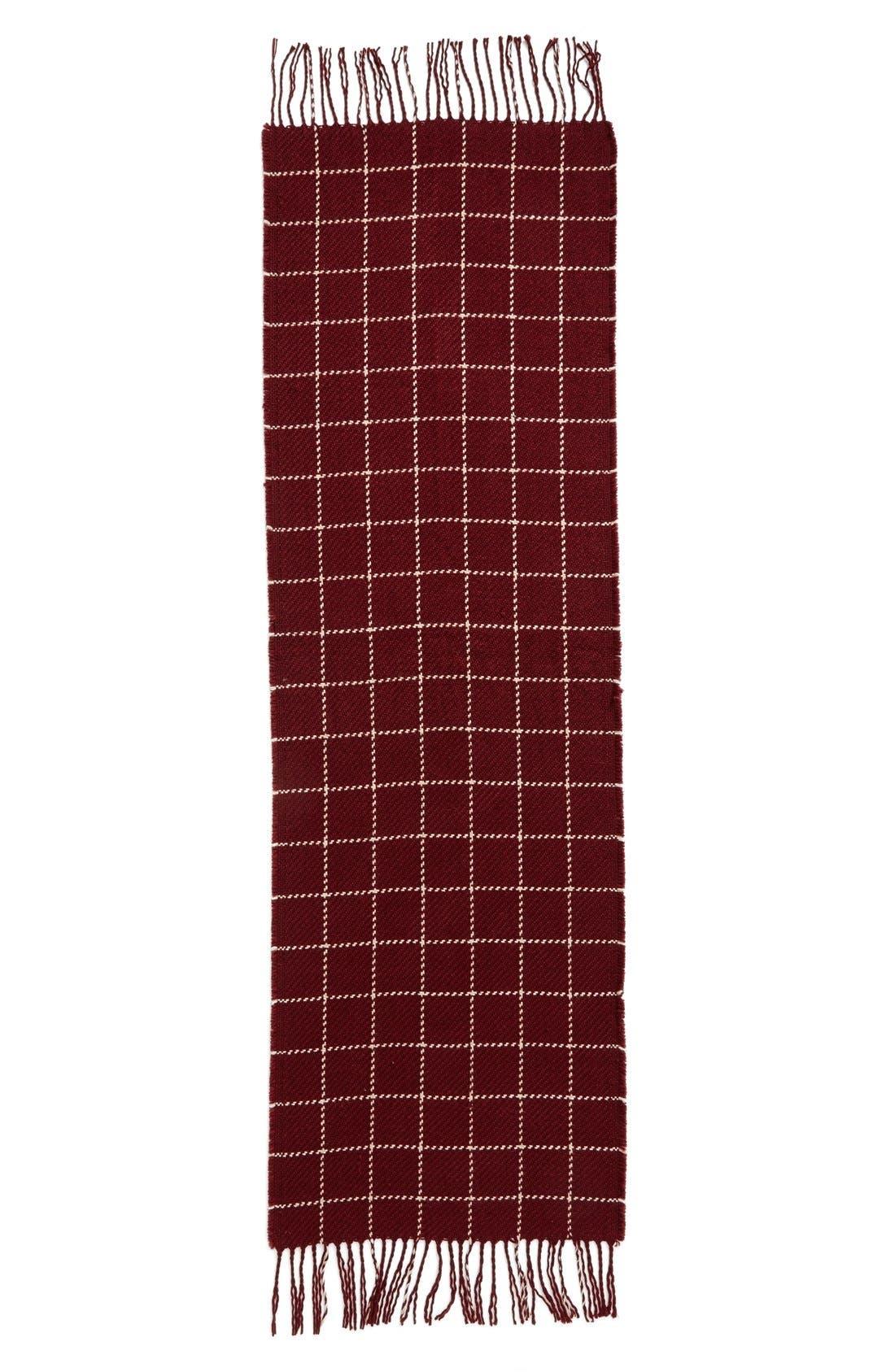 Alternate Image 2  - BP. Stitched Grid Scarf
