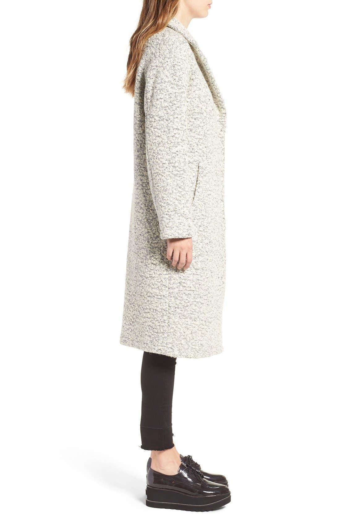 Alternate Image 4  - Glamorous Marled Dress Coat