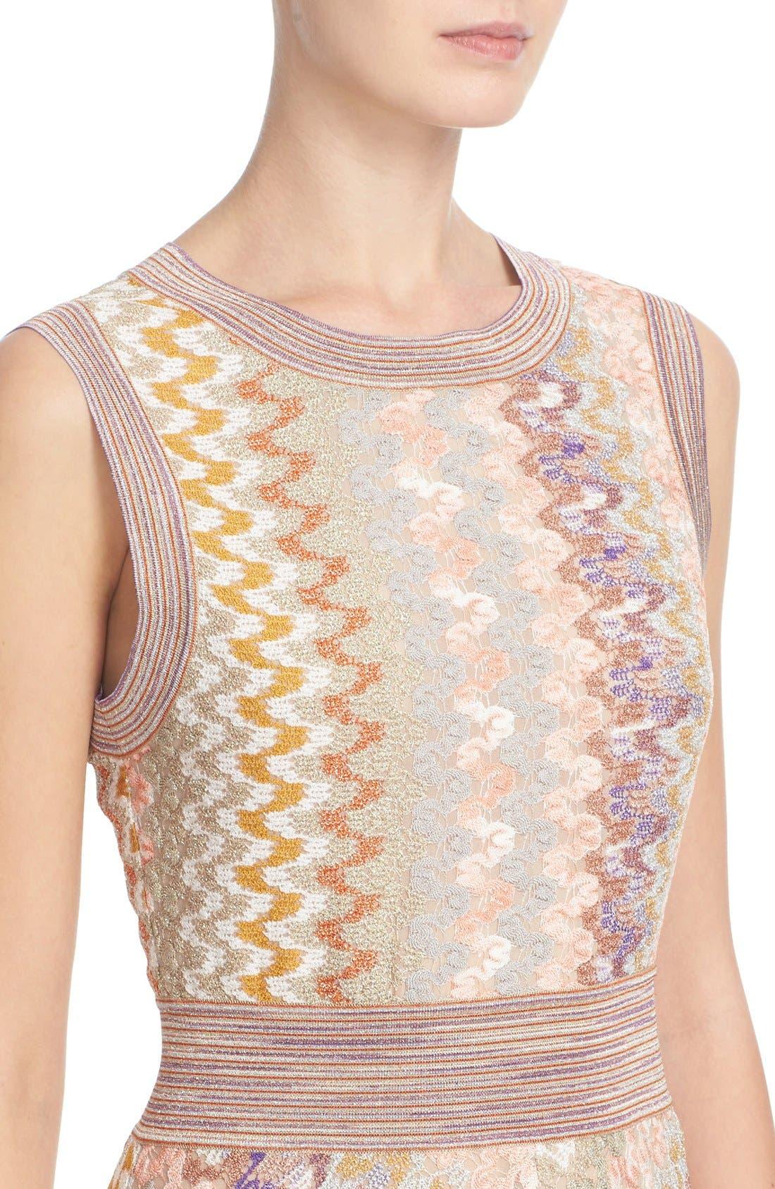 Alternate Image 6  - Missoni Metallic Knit Dress