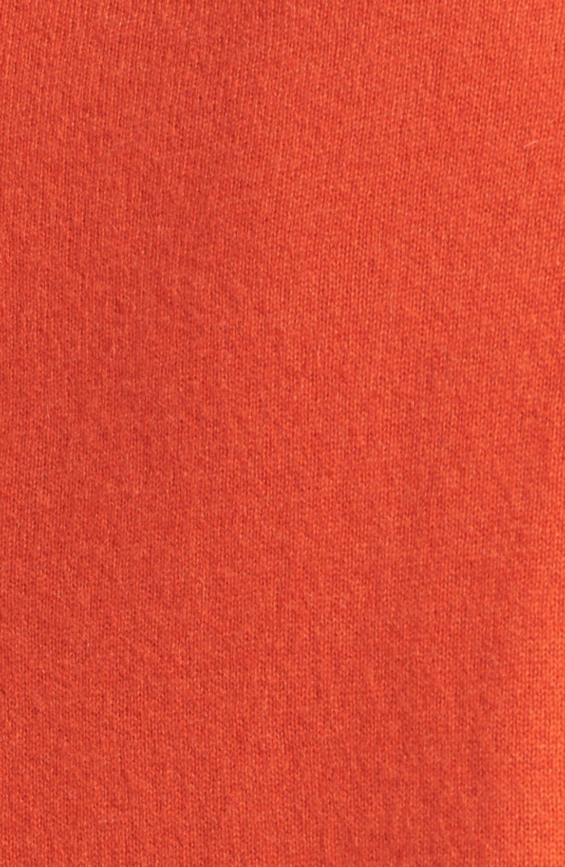 Alternate Image 5  - Vince Shirttail Cashmere Sweater