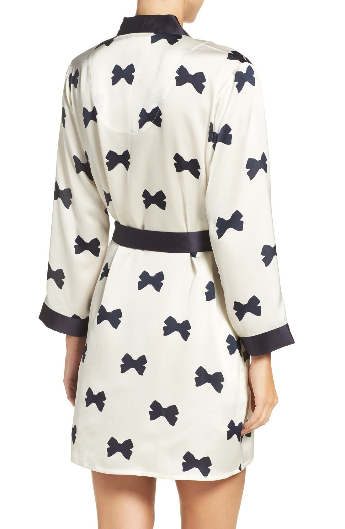 Alternate Image 2  - kate spade new york bow print robe