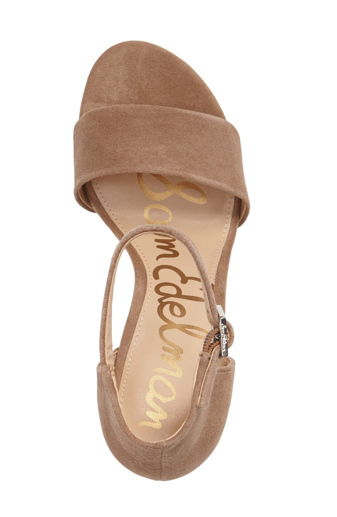 Alternate Image 3  - Sam Edelman Torrence Ankle Strap Sandal (Women)