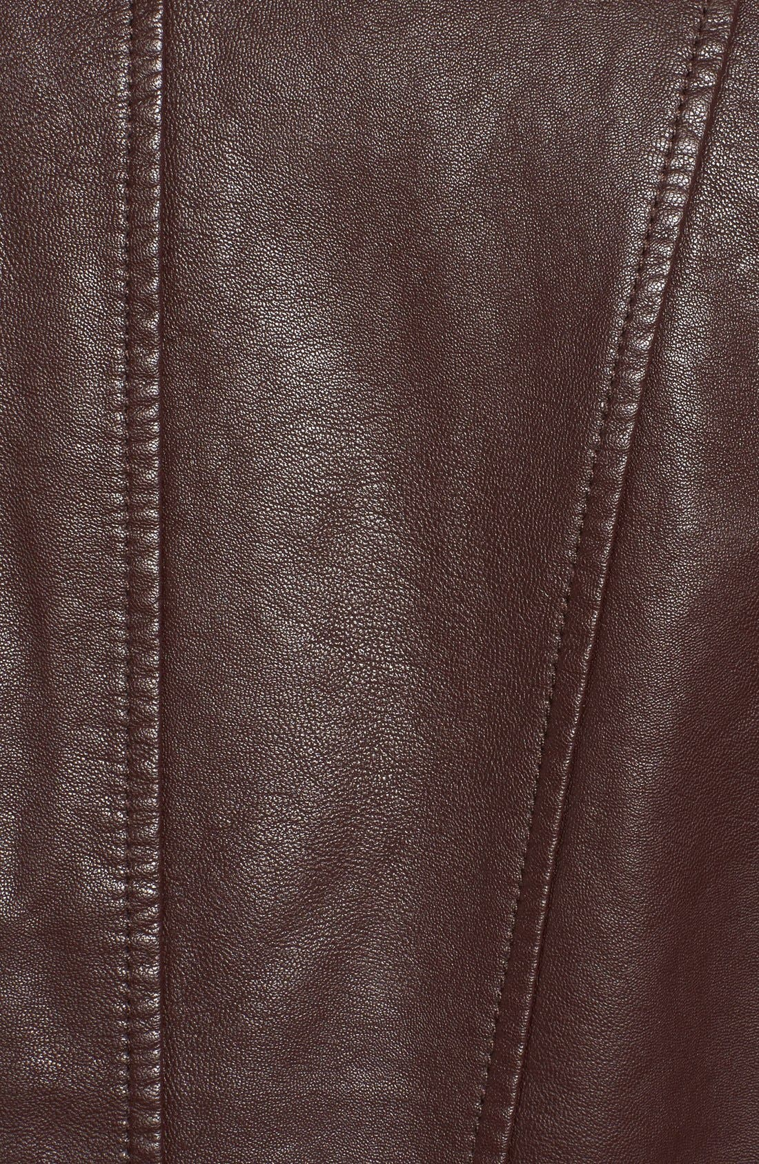 Alternate Image 5  - Levi's® Cowl Neck Faux Leather Jacket